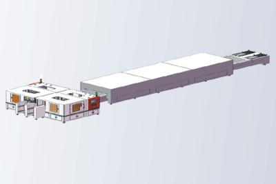 VS2030全自动丝网印刷生产线